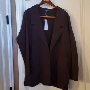 NWT Eileen Fisher Notch Collar Jacket